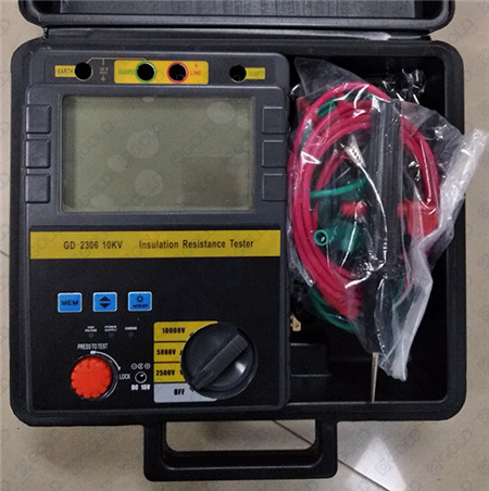 GD-2305/2306 5kV, 10kV High Voltage Insulation Resistance Meter, Megger Meter