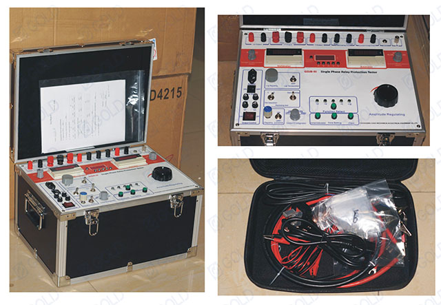 GDJB-III Single Phase Relay Protection Tester Sold to Philippines