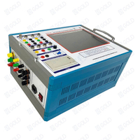 GDGK-307 Fully Automatic Circuit Breaker Analyzer Switch Dynamic Contact Resistance Tester