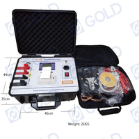 GDHL Series Circuit Breaker Contact Resistance Tester Micro ohmmeter